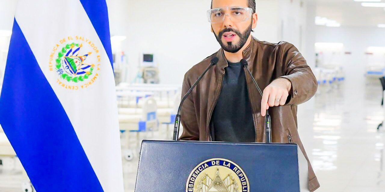 El Presidente Nayib Bukele reitera necesidad de una cuarentena nacional estricta para bajar la curva de contagios por COVID-19