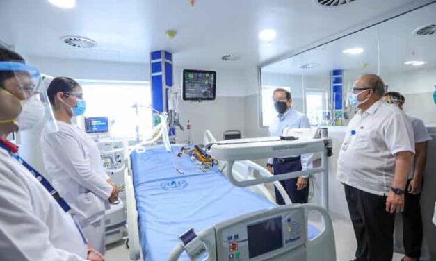 Habilitan nuevo hospital en Panamá para pacientes con Covid-19