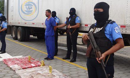 Incautan en Nicaragua más de 100 kilos de cocaína