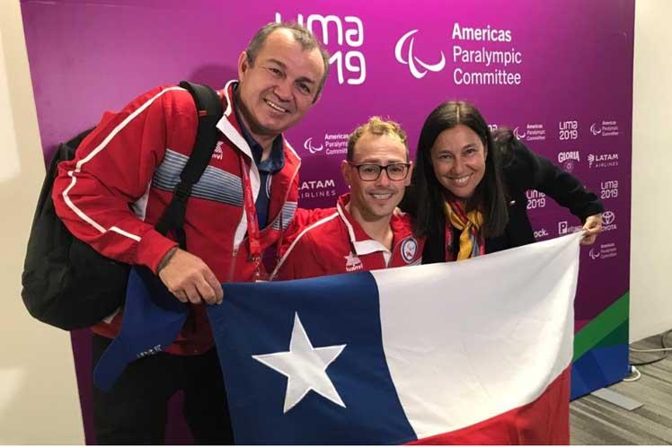 Chileno Abarza se baña en oro en la piscina de los Parapanamericanos