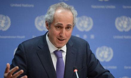 ONU reafirma apoyo al proceso de paz en Colombia